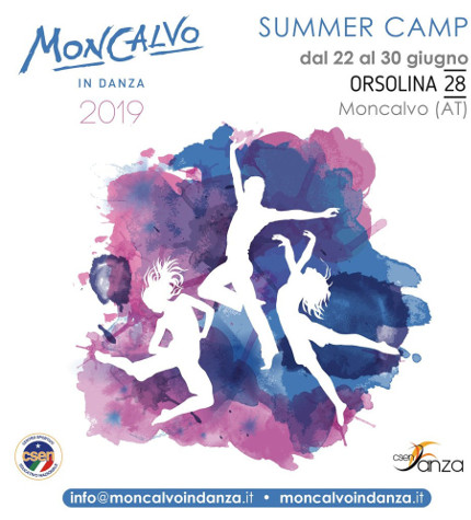 Summer Camp Moncalvo in Danza 2019