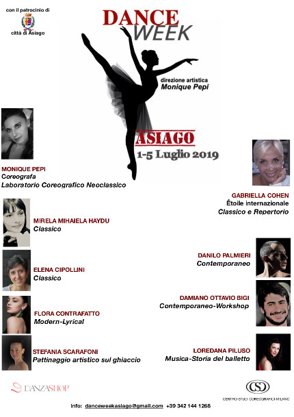 DANCE WEEK ASIAGO 2019