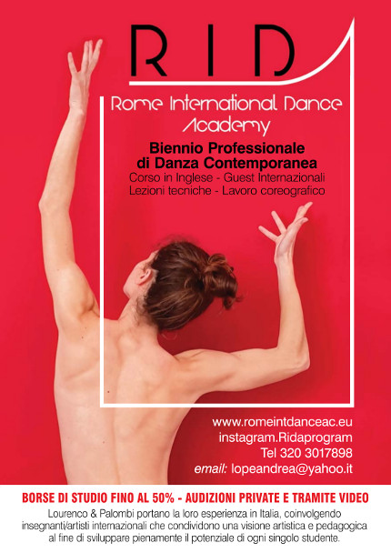 Prima Audizione per il Rome International dance Academy