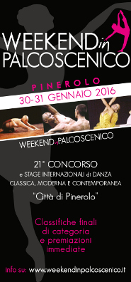week end in palcoscenico 2015