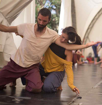 Due diventa Uno Contact Improvisation con Michele Marchesani